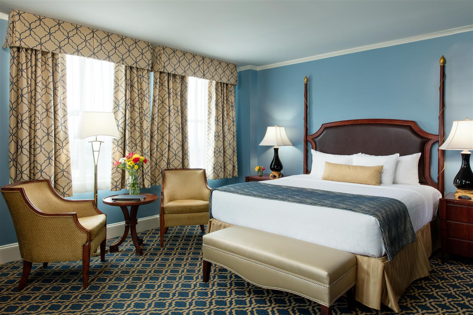 Welcome to the Francis Marion Hotel, in historic downtown Charleston, SC