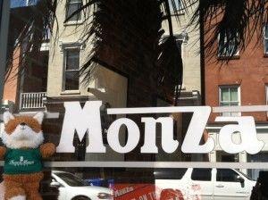 Monza sign