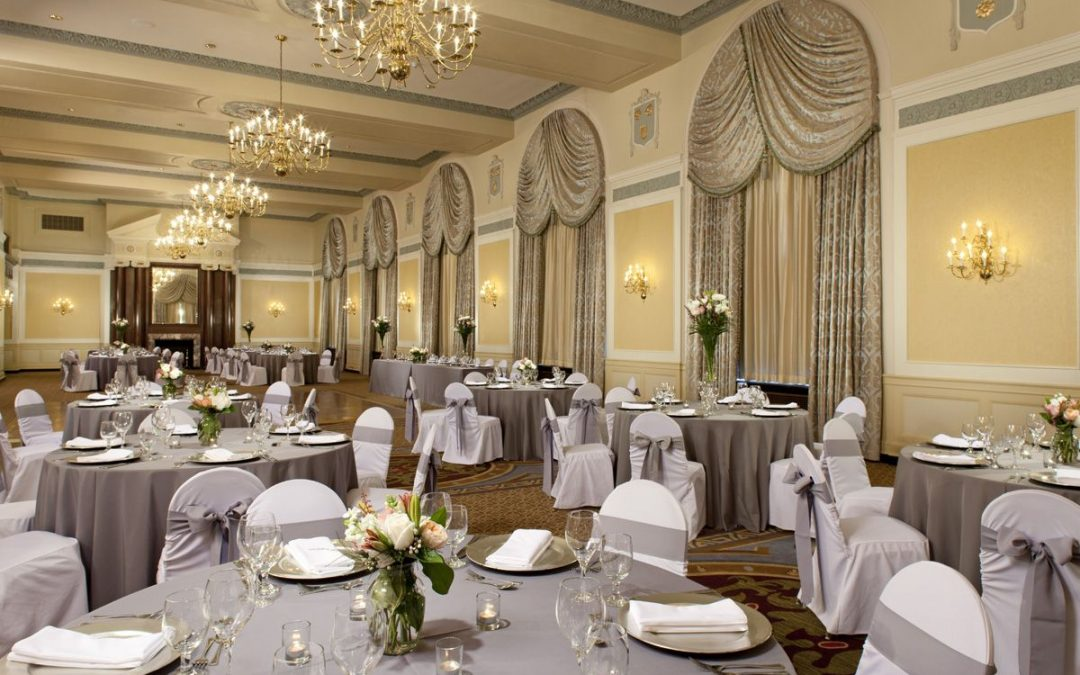 5 Reasons To Host Your Wedding Reception At The Francis Marion Hotel